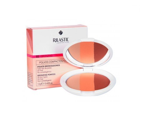 Rilastil Coverlab compact tanning powder nº02 bronzing tone 12g