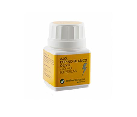 Botanicapharma Ajo Espin Blanco+ Olivo 700 Mg 60 Perlas