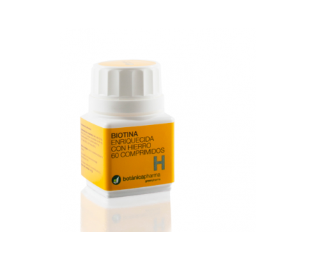 Botanicapharma Biotina + Hierro 0.4/35 Mg 60 Comp