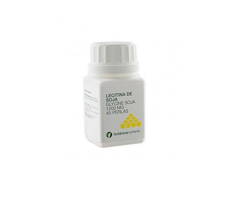 Botanica Nutrients Lecitina de soja 1200 45 perlas