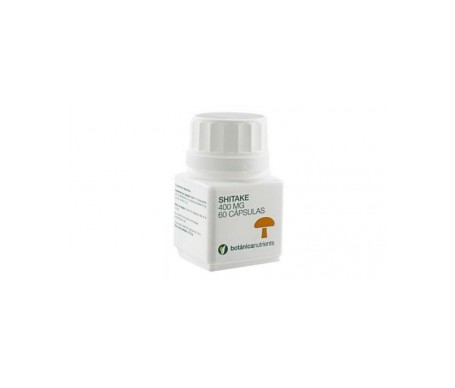 Botanica Nutrients Shitake 400mg 60cáps