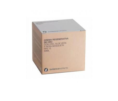 Botanica Nutrients Crema  Oro Regenerativa Fps 15 50ml