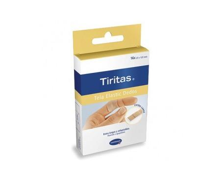 Tiritas Tela Elastic Large 16 U