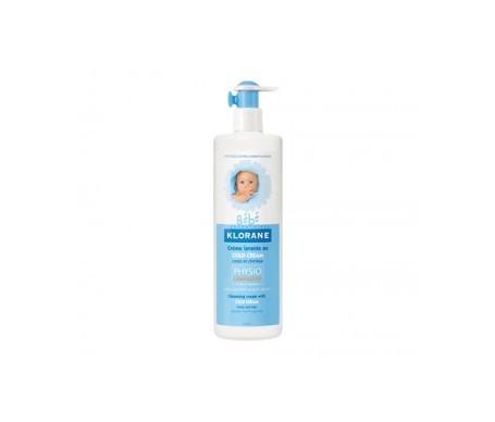 Klorane Bebé crema limpiadora y nutritiva 500ml
