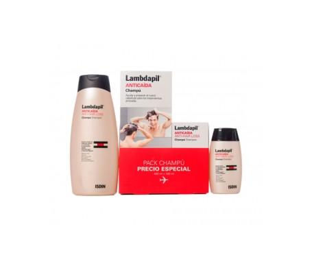 Shampoo perdita capelli Lambdapil 400ml+100ml