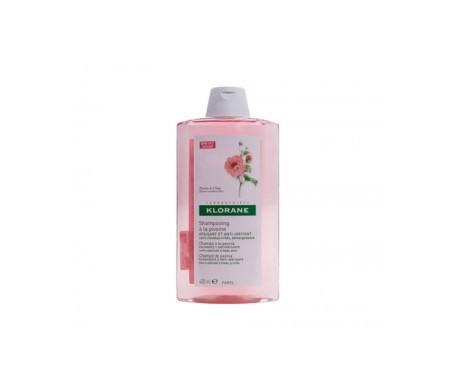 Klorane gel dopo shampoo con estratto di peonia 150ml