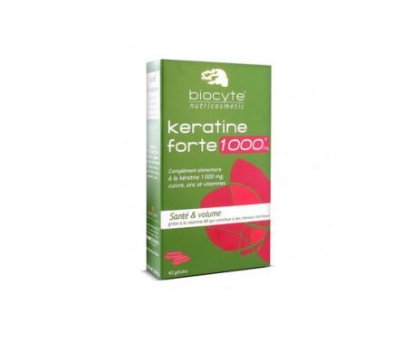 Biocyte Keratine Forte 40cáps
