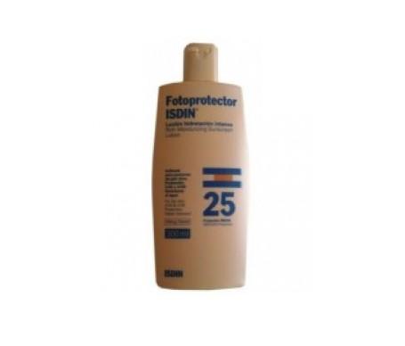 Fotoprotector ISDIN® loción hidratación intensa SPF25+ 300ml