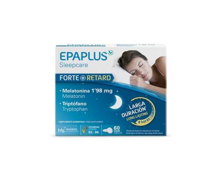 Epaplus Melatonina Forte+ Retard 1,98 mg y Triptófano 60comp