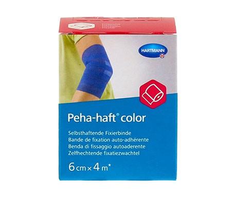 Peha-Haft venda azul 6cmx4m 1ud