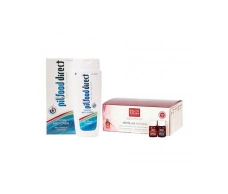 Martiderm ™ Martiderm ™ Sistema di prevenzione delle perdite di capelli 3GF 14amp + PilFood prevenzione delle perdite Shampoo 200ml