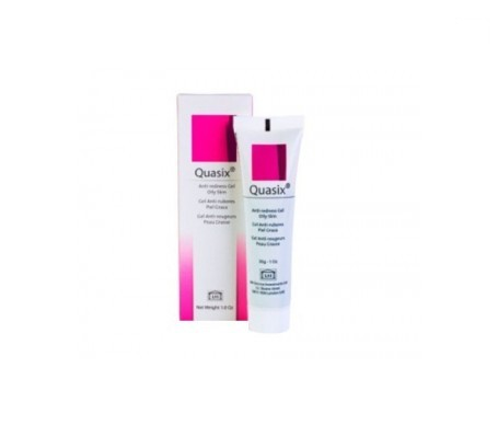 Quasix gel anti-rubores y rosácea piel grasa 30ml