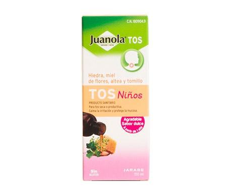 Juanola tos niños jarabe 150ml