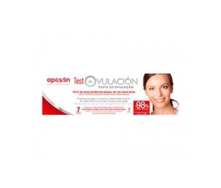 Aposán test ovulación 7uds
