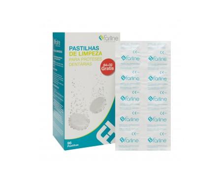 Farline pastillas limpiadoras 96 tabletas