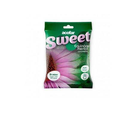 Acofarsweet caramelos azúcar sabor equinacea mentol 60g