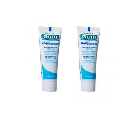 GUM® Halicontrol gel dental 75ml+75ml