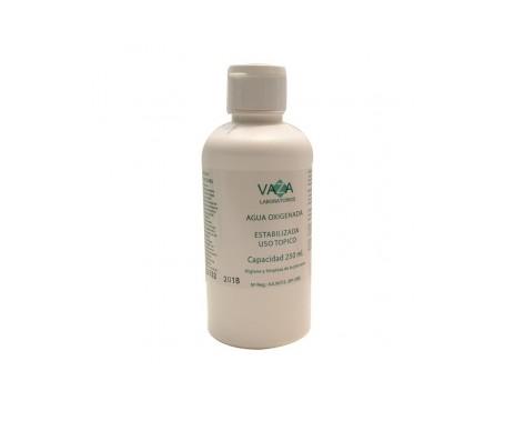 Vaza agua oxigenada 250ml