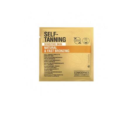 Comodynes Self-Tanning Original Sensitive Skin toallitas autobronceadoras 8uds
