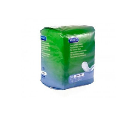 Alvita Extra absorbentes incontinencia orina ligera 10uds