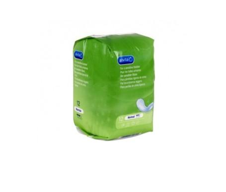 Alvita Normal absorbentes incontinencia orina ligera 12uds