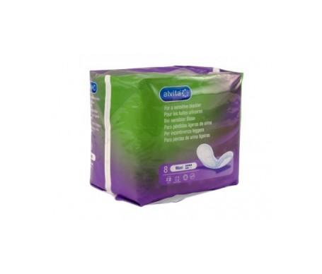 Alvita Maxi absorbentes incontinencia orina ligera 8uds