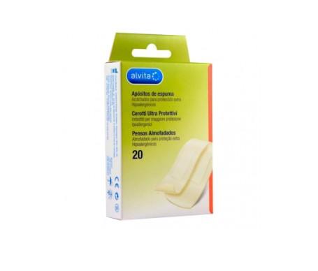 Alvita apósito adhesivo espuma 20uds