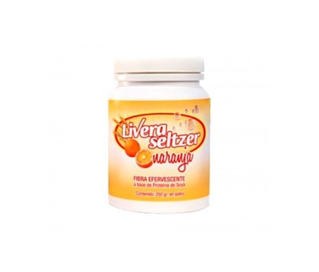 Livera Seltzer naranja 250g