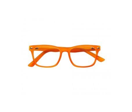 Nordic Vision modelo Gotland PC color naranja dioptrías +1,00 1ud