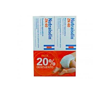 Nutraisdin® Zn 40 pomada reparadora 50ml+50ml