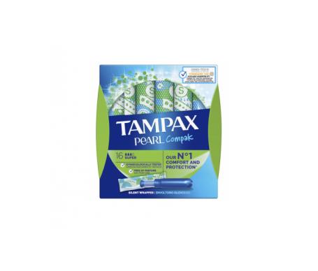 Tampax Compak Pearl Super 18uds