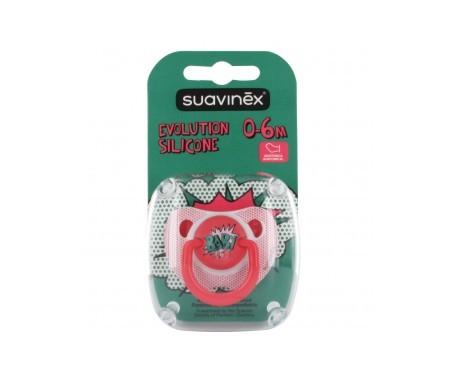 Suavinex®  Baby Art chupete anatómico silicona 6m 1ud
