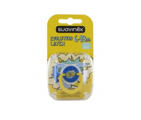 Suavinex®  Baby Art chupete anatómico látex 6m 1ud