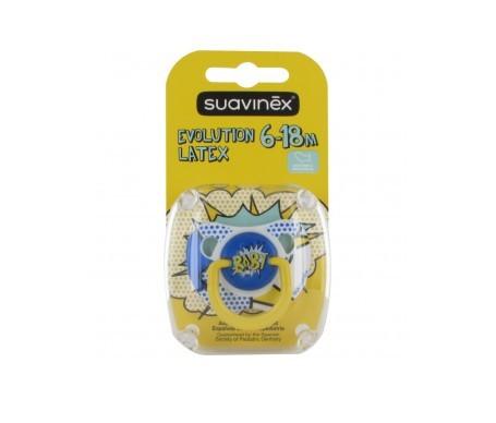 Suavinex®  Baby Art chupete anatómico látex 6-18m 1ud