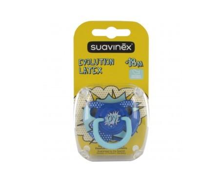 Suavinex® Baby Art chupete anatómico látex +18m 1ud