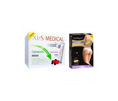 XLS Medical Captagrasas 90 sticks + Xanthigen piernas ligeras 40comp