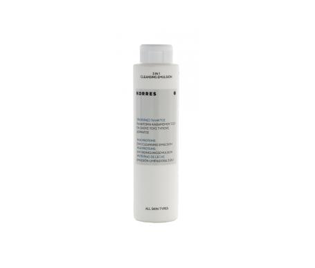 Corone proteiche dell'emulsione detergente al latte 3in1 200ml