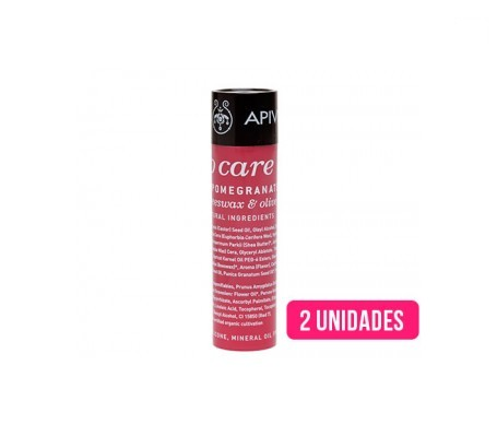 Apivita lip care granada 2uds