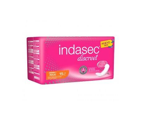 Indasec® Discreet Maxi 15uds+5uds