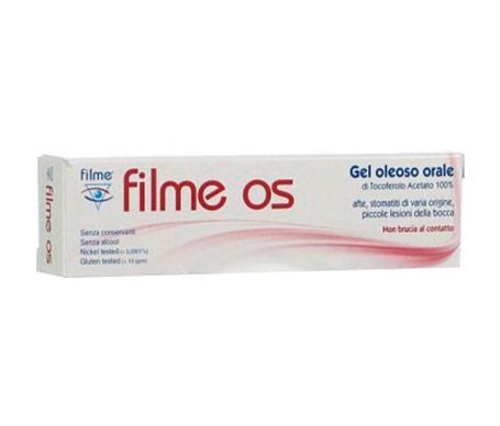 Filme Os Gel Oleoso Oral  8 Ml C/ Aplicador
