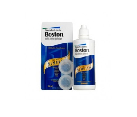 Bausch&Lomb Boston Simplus 3udsx120ml + OBSEQUIO