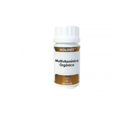 Holovit multivitamínico orgánico 50cáps