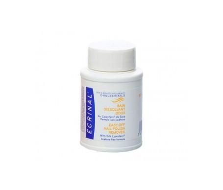 Ecrinal quitaesmalte suave express sin acetona 75ml