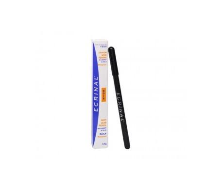 Ecrinal lápiz ojos mina blanda ANP2+ color negro 0,5g