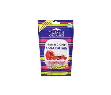 Yum Earth caramelos orgánicos de frutos rojos 30uds