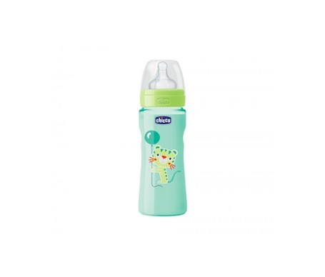 Chicco® Well Being biberón verde 250ml