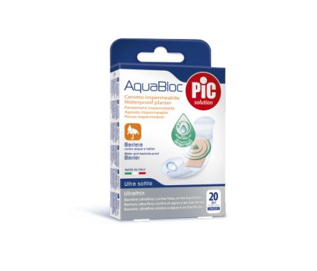 Pic Aquabloc  Aposito Adhesivo Surtido 20 U