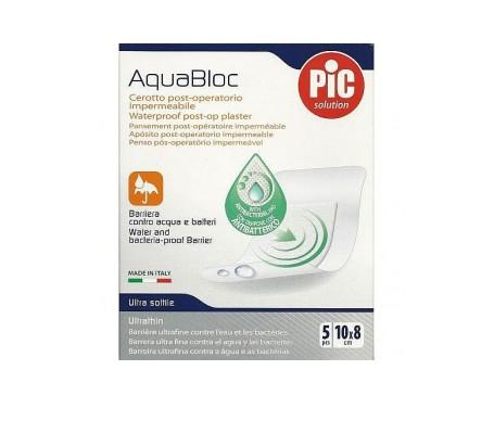 Pic Aquabloc Post Op Antibacteriano  Aposito Esteril 15 X 10 Cm