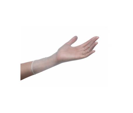 Naturflex guantes vinilo sin polvo T-S 1ud