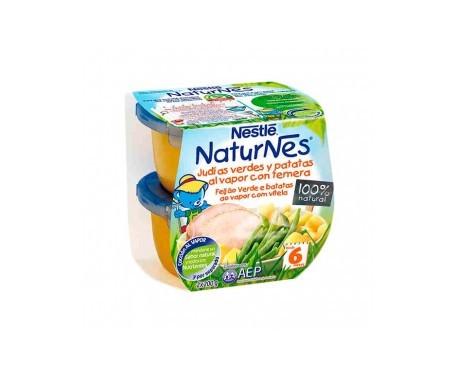 Naturnes J Verdes Patatas Al Vapor Con Ternera  200 G 2 U